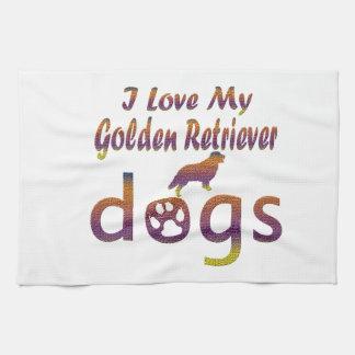 Golden Retriever designs Towel