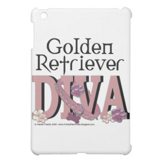 Golden Retriever DIVA iPad Mini Case