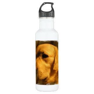 Golden Retriever Dog 24oz Water Bottle