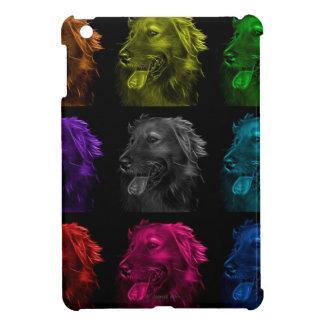 golden retriever dog art iPad mini covers