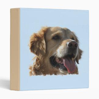 Golden Retriever Dog Binder