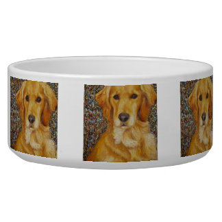 Golden Retriever Dog Bowl