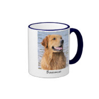 Golden Retriever Dog Breed Mug Customizable Text