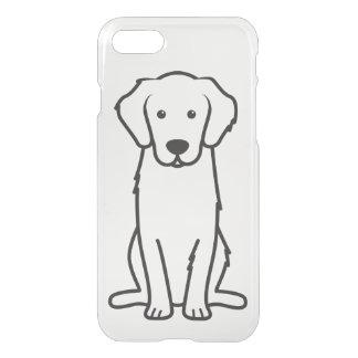 Golden Retriever Dog Cartoon iPhone 7 Case