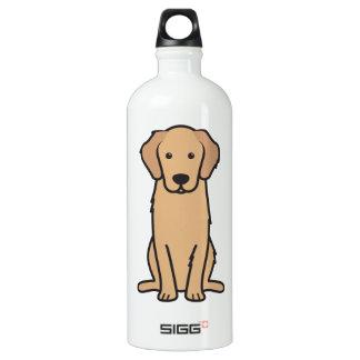Golden Retriever Dog Cartoon SIGG Traveler 1.0L Water Bottle