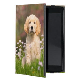 Golden Retriever Dog Cute Goldie Puppy  Protection iPad Mini Cases