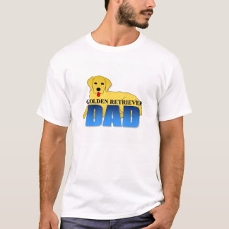 Golden Retriever Dog Dad T-Shirt