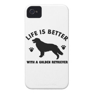 golden-retriever dog design iPhone 4 cover
