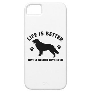 golden-retriever dog design iPhone SE/5/5s case