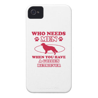 GOLDEN RETRIEVER DOG DESIGNS iPhone 4 COVER