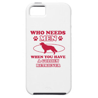 GOLDEN RETRIEVER DOG DESIGNS iPhone SE/5/5s CASE