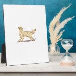 Golden Retriever Dog Display Plaques