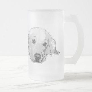 Golden Retriever Dog Frosted Mug