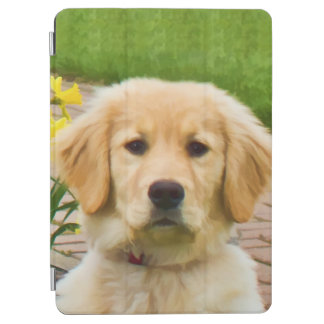 Golden Retriever Dog iPad Air Cover