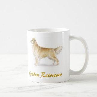 Golden Retriever, Dog Lover Galore! Classic White Coffee Mug