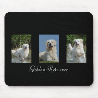 Golden Retriever dog lovers custom mousepad