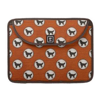 Golden Retriever Dog Medallion Pattern MacBook Pro Sleeve