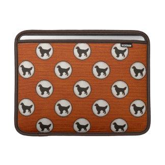 Golden Retriever Dog Medallion Pattern Sleeve For MacBook Air