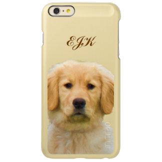 Golden Retriever Dog, Monogram Incipio Feather® Shine iPhone 6 Plus Case
