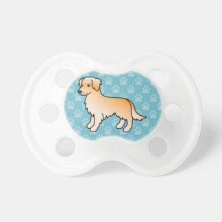 Golden Retriever Dog Pacifier