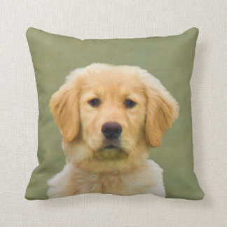 Golden Retriever Dog Pillow