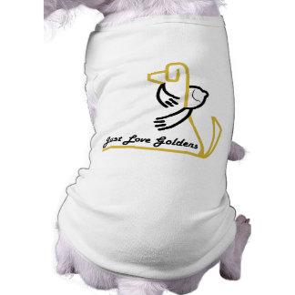 Golden Retriever Dog Tank T-Shirt, Love Goldens T-Shirt