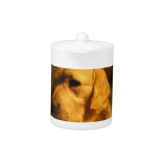 Golden Retriever Dog Teapot