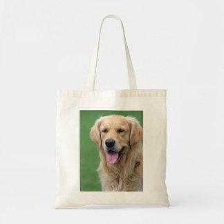 Golden Retriever dog tote bag, gift idea