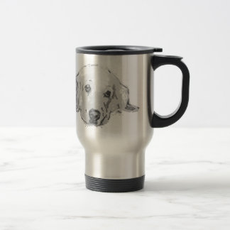 Golden Retriever Dog Travel Mug