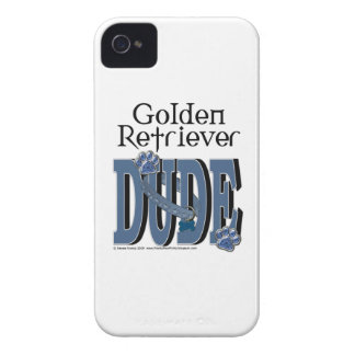 Golden Retriever DUDE iPhone 4 Case