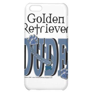 Golden Retriever DUDE iPhone 5C Case