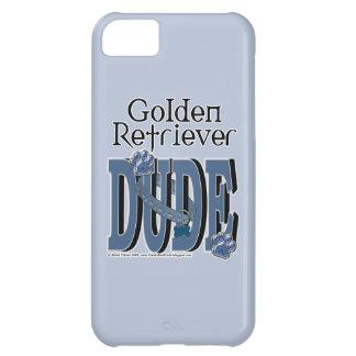 Golden Retriever DUDE iPhone 5C Cases