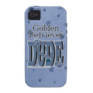 Golden Retriever DUDE Vibe iPhone 4 Cover