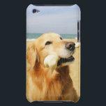 "Golden Retriever eating bone Barely There iPod Cover<br><div class=""desc"">Animals-&gt;Dog</div>"