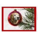 Golden Retriever Fabulous Face Christmas Card