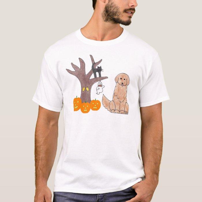 Golden Retriever Fall T-Shirt