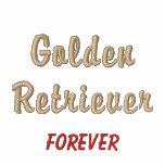 Golden Retriever Forever - Embroidered Shirt