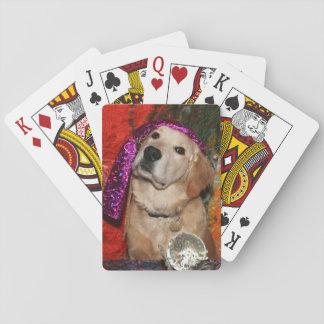 Golden Retriever Fortune Teller Playing Cards