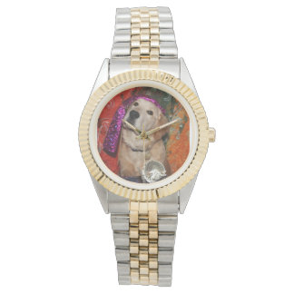 Golden Retriever Fortune Teller Wrist Watch