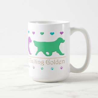 Golden Retriever Gaiting Mug