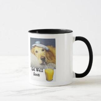 Golden Retriever Get Well Mug