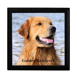 Golden Retriever Trinket Box
