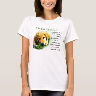 Golden Retriever Gifts Apparel T-Shirt