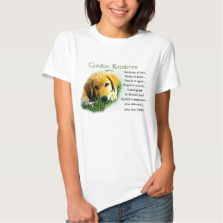 Golden Retriever Gifts Apparel Tee Shirt