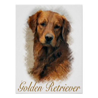 Golden Retriever Gifts Art Print