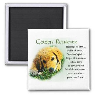 Golden Retriever Gifts Magnet
