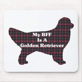 Golden Retriever Gifts Mouse Pad