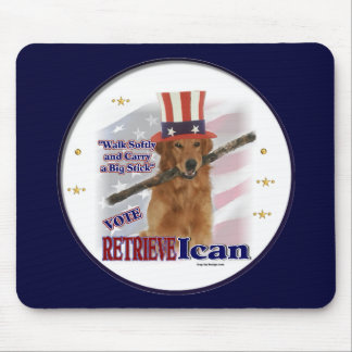 Golden Retriever Gifts Mouse Pads