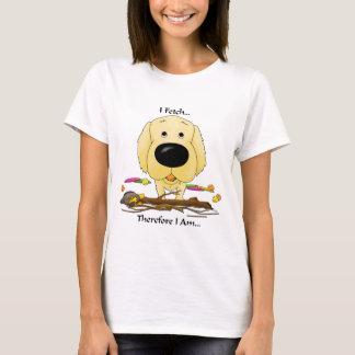 Golden Retriever(Golden Retrievers) I Fetch..Shirt T-Shirt