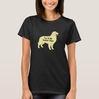 Golden Retriever Golden Years T-Shirt 2